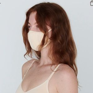SKIMS Seamless Face Mask in Sand